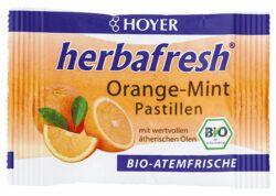 HOYER Orange Mint Pastillen 12x17g