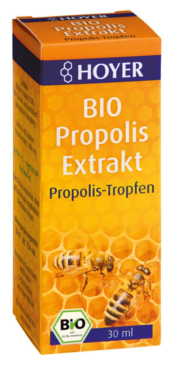 HOYER Propolis Extrakt, flüssig BIO 5x30ml