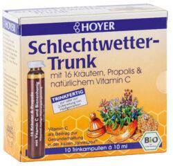 HOYER Schlechtwetter-Trunk Trinkampullen 5x100ml