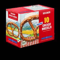 HUOBER BREZEL HUOBER Große Brezel 5x2 Stück 10x200g