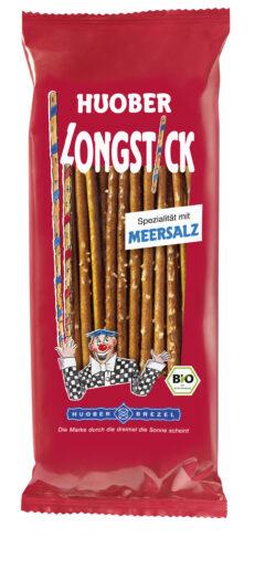 HUOBER BREZEL HUOBER Longstick mit Meersalz 12x125g
