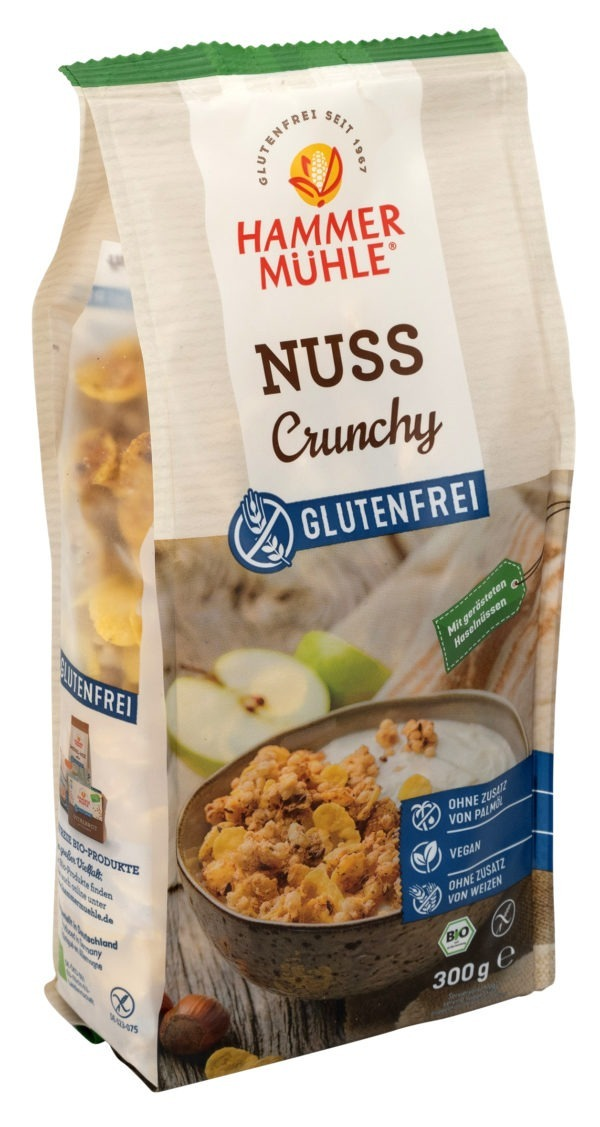 Hammermühle Bio Nuss Crunchy gf 6x300g