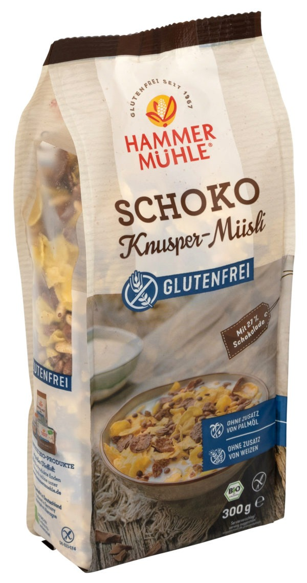 Hammermühle Bio Schoko Knusper-Müsli gf 6x300g