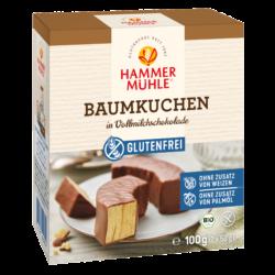 Hammermühle Bio Baumkuchen in Vollmilchschokolade gf 8x100g