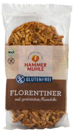 Hammermühle Bio Florentiner mit gerösteten Mandeln gf 8x100g