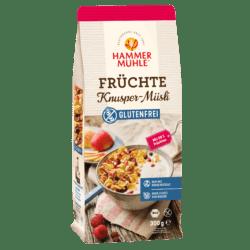 Hammermühle Bio Früchte Knusper-Müsli gf 6x300g