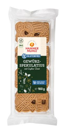 Hammermühle Bio Gewürzspekulatius gf 10x160g