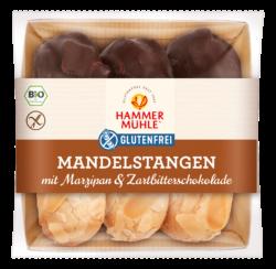 Hammermühle Bio Mandelstangen mit Marzipan & Zartbitterschokolade gf 5x125g