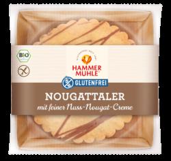 Hammermühle Bio Nougattaler mit Vollmilchschokolade gf 5x140g