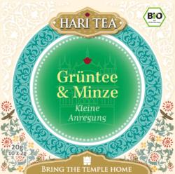 Hari Tea Grüntee & Minze - Kleine Anregung 6x20g