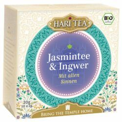 Hari Tea Jasmintee & Ingwer - Mit allen Sinnen 6x20g