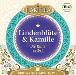 Hari Tea Lindenblüte & Kamille - Die Ruhe selbst 6x20g