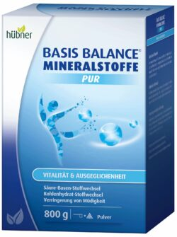 Hübner BASIS BALANCE® MINERALSTOFFE PUR 800g