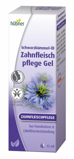 Hübner Schwarzkümmel-Öl Zahnfleischpflege Gel 15ml
