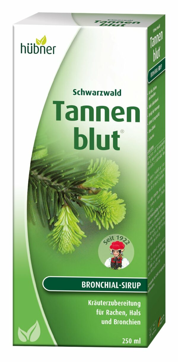 Hübner Tannenblut Bronchial-Sirup 250ml