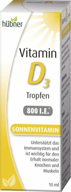 Hübner Vitamin D3 Tropfen 10ml