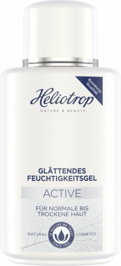 Heliotrop Active glättendes Feuchtigkeitsgel mit Bio-Aloe Vera, zertifizierte Naturkosmeti 150ml