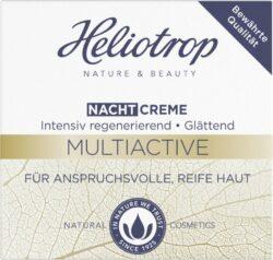 Heliotrop Multiactive Nachtcreme- Regenerative Pflege für anspruchsvolle und reife Haut 50ml