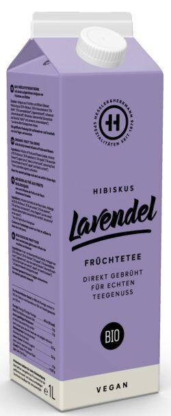 Hessler & Herrmann BIO Früchteteegetränk Hibiskus Lavendel 8x1l