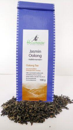 Heuschrecke China Jasmin Oolong Tee, kbA 5x100g