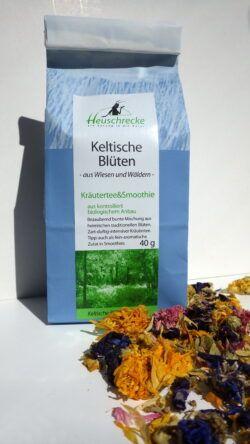 Heuschrecke Keltische Blütenmischung, Kräutertee, kbA 5x40g