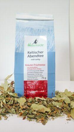 Heuschrecke Keltischer Abendtee, Kräuter-Früchtetee, kbA 5x75g