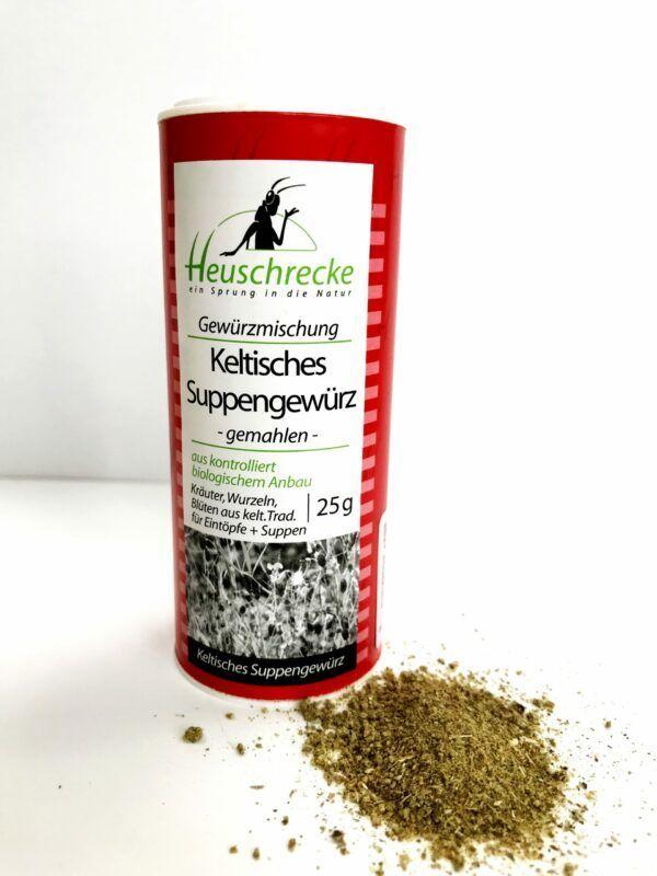 Heuschrecke Keltisches Suppengewürz, gemahlen, kbA 5x25g