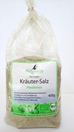 Heuschrecke Kräutersalz mediterran, Nachfüllbeutel 10x400g