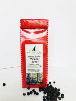 Heuschrecke Malabar - Pfeffer Superior, schwarz, ganz, kbA 5x75g