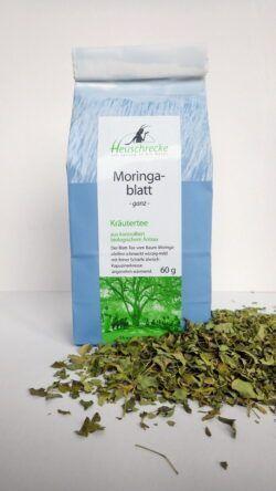 Heuschrecke Moringa- Blatt Tee, kbA 5x60g