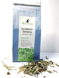 Heuschrecke Sanddorn- Verbena, Kräutertee, kbA 5x50g