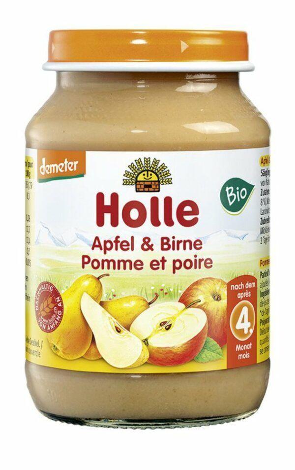 Holle  Apfel & Birne 6x190g