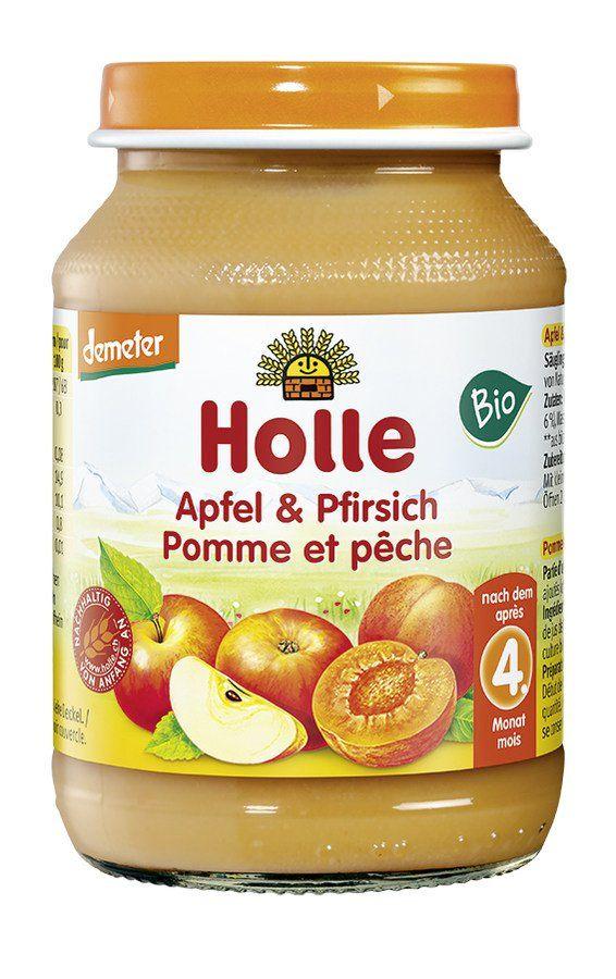 Holle Apfel & Pfirsich 6x190g