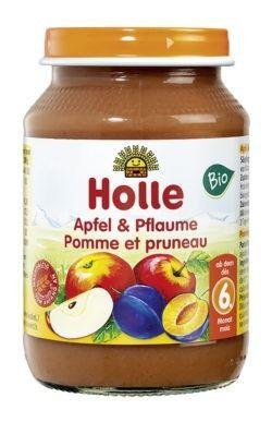 Holle Apfel & Pflaume 6x190g