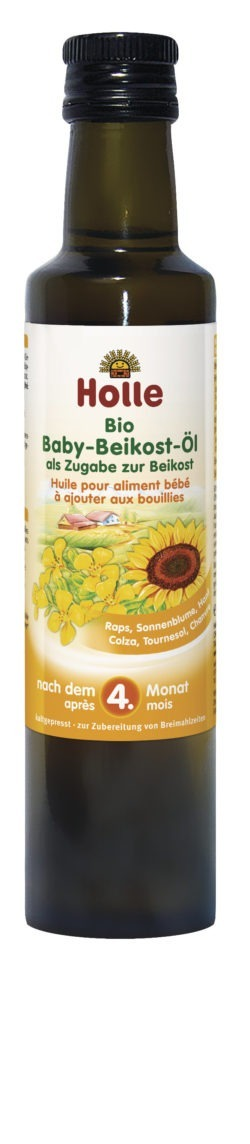 Holle Bio Baby-Beikost-Öl 4x250ml