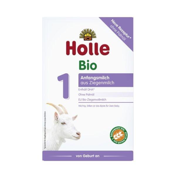 Holle  Bio-Anfangsmilch 1 aus Ziegenmilch 4x400g
