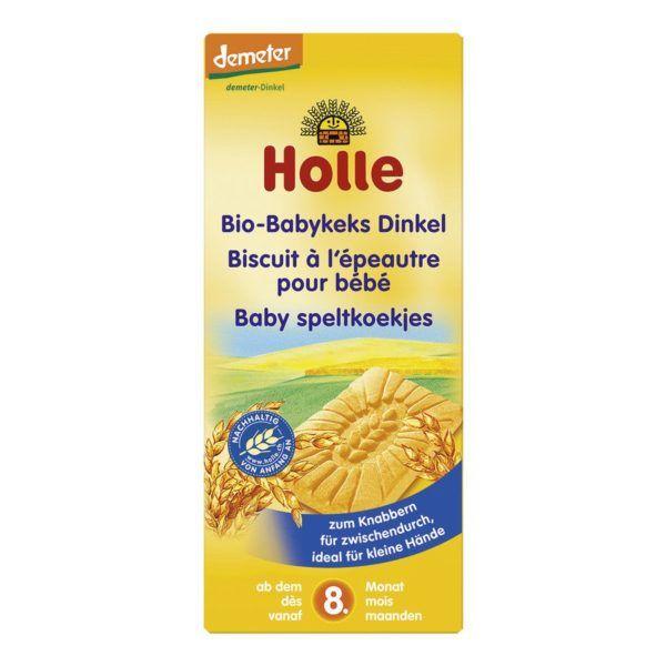 Holle Bio-Babykeks Dinkel 12x150g