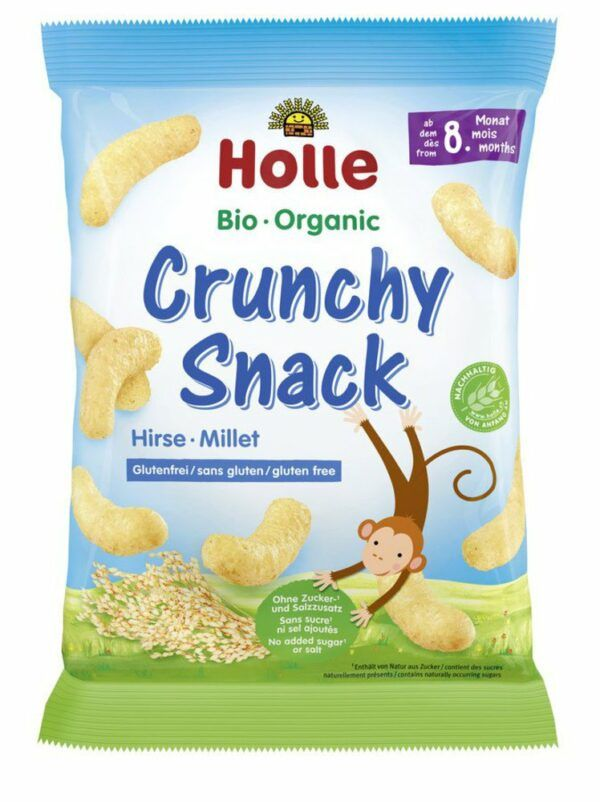 Holle Bio-Crunchy Snack Hirse 8x25g
