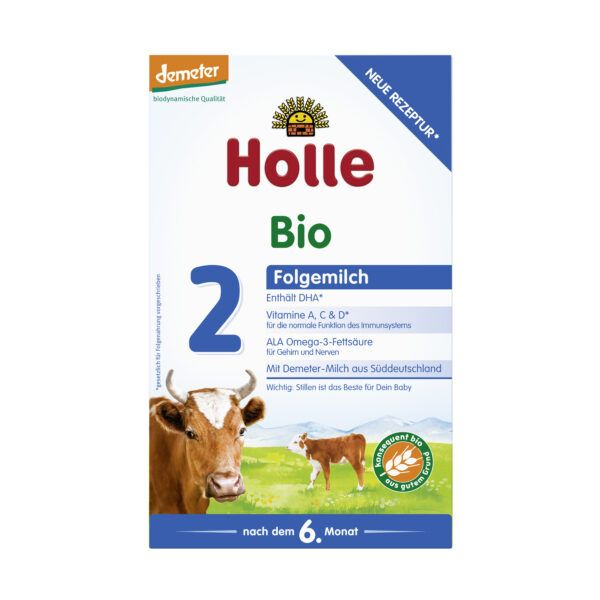 Holle  Bio-Folgemilch 2 600g