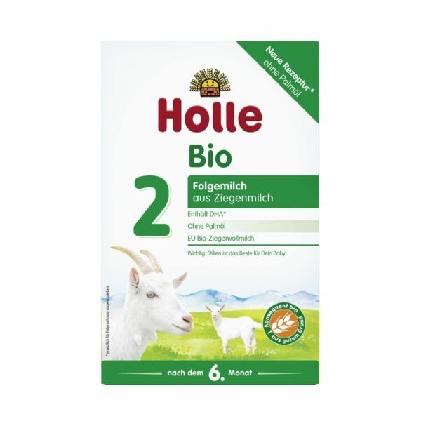 Holle  Bio-Folgemilch 2 aus Ziegenmilch 6x400g