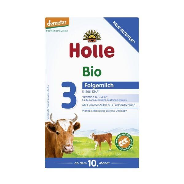 Holle Bio-Folgemilch 3 3x600g