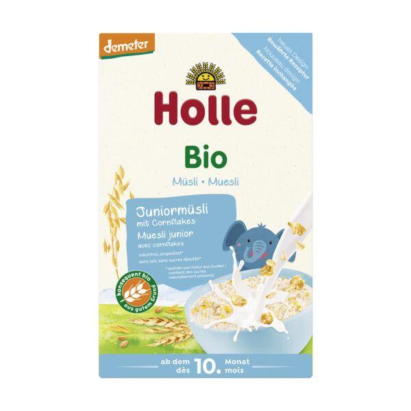 Holle Bio-Müsli Juniormüsli Mehrkorn mit Cornflakes 8x250g