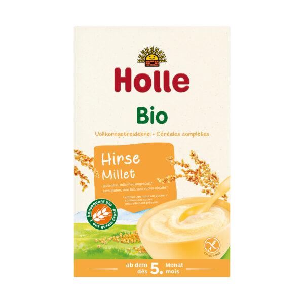 Holle  Bio-Vollkorngetreidebrei Hirse 250g