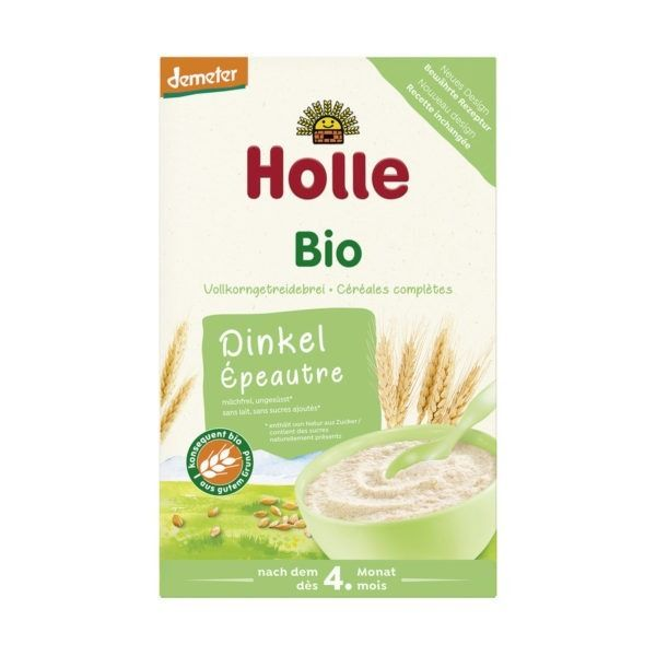 Holle Bio-Vollkorngetreidebrei Dinkel 6x250g