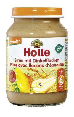 Holle Birne mit Dinkelflocken 6x190g