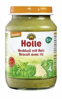 Holle Brokkoli mit Reis 6x190g
