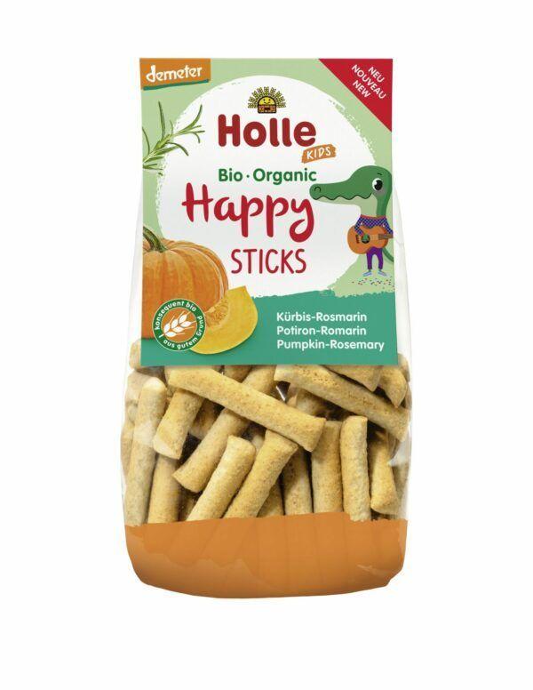 Holle Happy Sticks Kürbis Rosmarin 6x100g