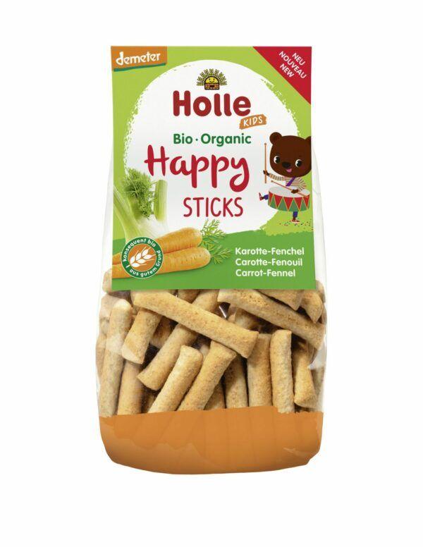 Holle Happy Sticks Karotte Fenchel 6x100g