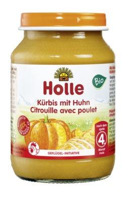 Holle Kürbis mit Huhn 6x190g