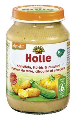Holle Kartoffeln, Kürbis & Zucchini 6x190g